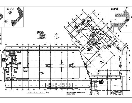 小高层住宅防排烟系统设计施工图
