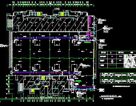 住宅开发区改造工程通风及防排烟系统设计图