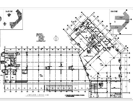 小高层住宅防排烟系统设计施工图(气体消防)