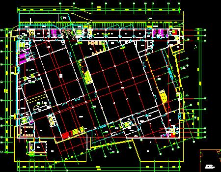 四层博物馆建筑空调通风及防排烟系统设计施工图
