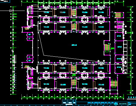 四层教学楼采暖设计施工图