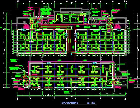 博物馆建筑空调及通风系统设计施工图