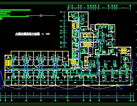 七层科技楼中央空调设计施工图
