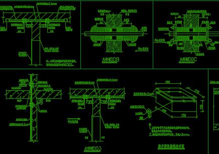 人防工程设备安装节点详图