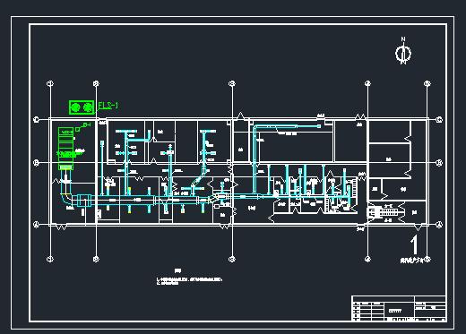 洁净药厂空调设计图纸