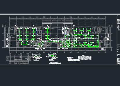 汽车客运站空调及通风暖通施工图纸