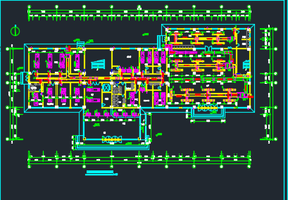 酒店全套中央空调系统设计图纸