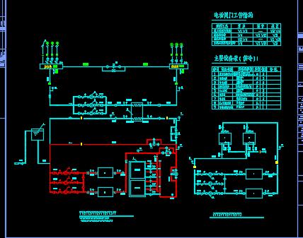 某办公楼冰蓄冷空调系统设计图