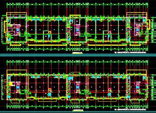 十八层住宅楼暖通设计图纸