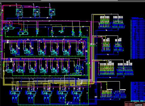 氨制冷原理图及系统图