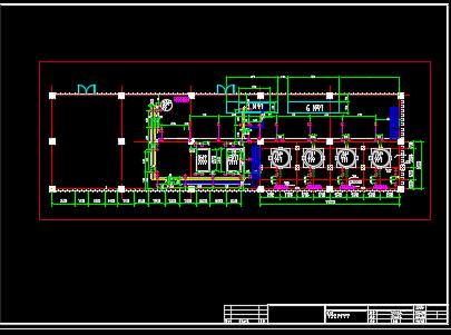 某大型冷库制冷工艺系统设计施工图纸