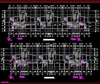 某小区17栋高层住宅楼暖通施工图纸