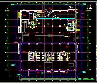 某33层综合楼通风空调施工图纸