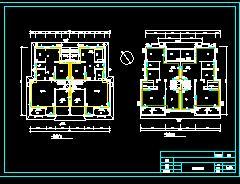 二层别墅暖通设计图纸
