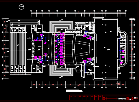 商务办公楼中央空调系统设计图纸