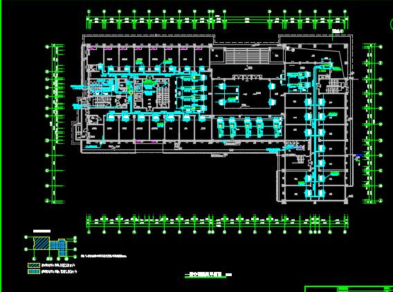 某十五层框架结构办公楼中央空调设计图纸