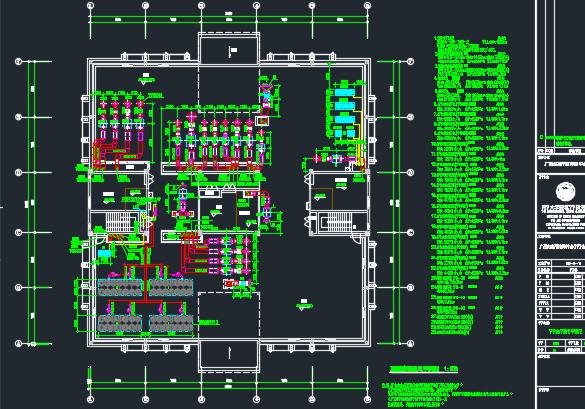 疾控中心10层综合办公楼空调通风及防排烟系统施工图纸