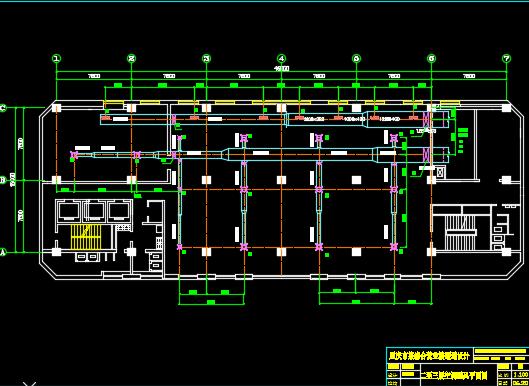 十四层商业综合楼暖通施工图纸