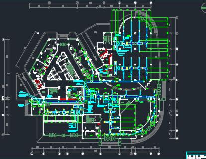 某十八层办公楼空调系统施工图纸