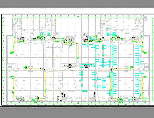数据中心暖通全套施工图纸