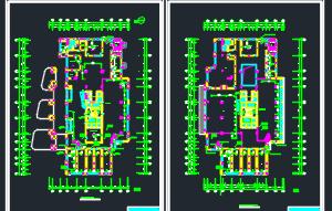 某工业区十层办公楼暖通施工图