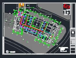 七层科技馆暖通施工图