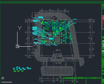 十层办公楼大厦暖通空调全套施工图