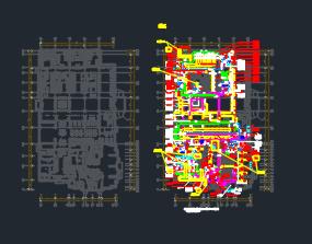 二十六层五星级酒店暖通空调设计施工图