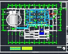 五层科技中心办公楼暖通系统大润发棋牌施工图