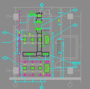 高科技园区五层厂房暖通全套施工图
