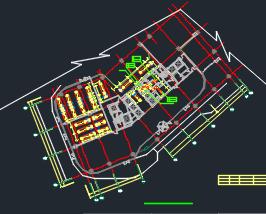 十层办公楼及卖场暖通澳门永利官方平台图
