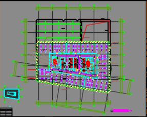 三十四层商业综合楼暖通施工图