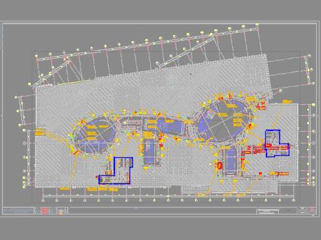 金融中心大型商�I中心暖通施工�D�(CAD格式、PDF格式)