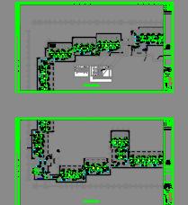 三层酒店暖通施工图