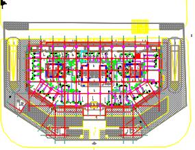 十三层医院病房楼暖通施工图