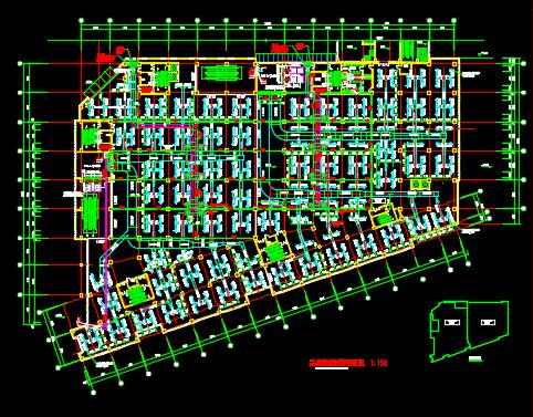大型商城暖通空调设计图纸