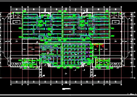 某仓库暖通空调设计施工图纸