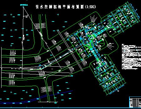 堤防引水涵闸全套施工图