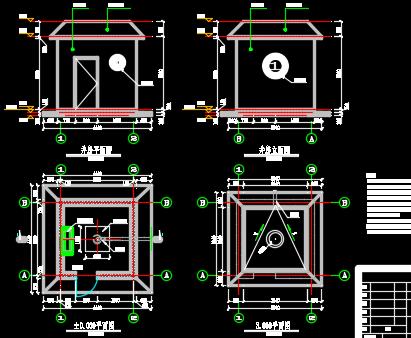 井房设计图纸