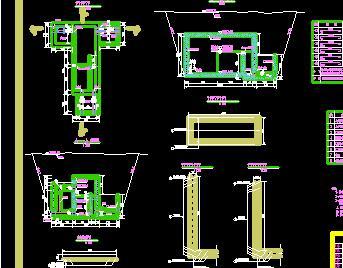 农村饮水工程分水池构造设计图纸