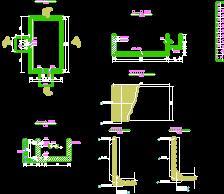 某安全饮水工程分水池设计图纸