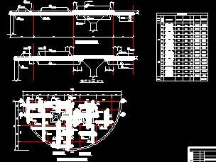 400m3圆形钢筋砼蓄水池施工图