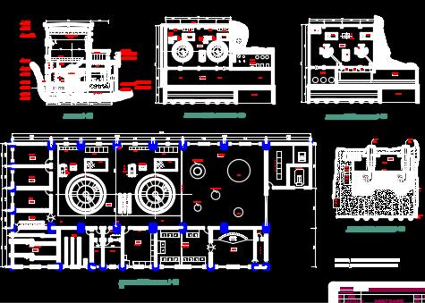 双口渡浆砌石拱坝枢纽初设与水电站厂房结构设计(含图纸)