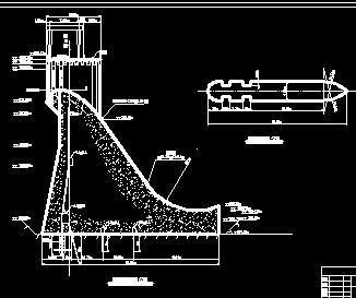 重力坝毕业设计计算书及图纸