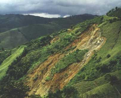 山里的风景ppt