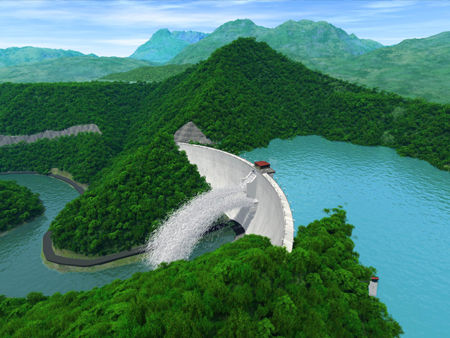 大型水库枢纽工程施工组织设计