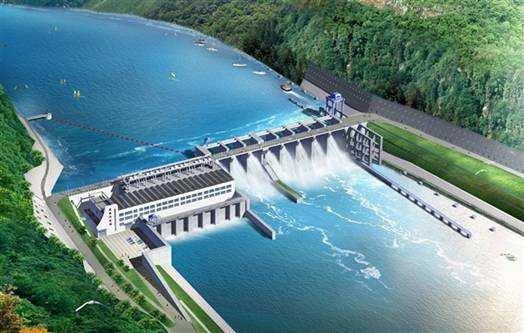 大型水电站大坝开挖工程施工方案