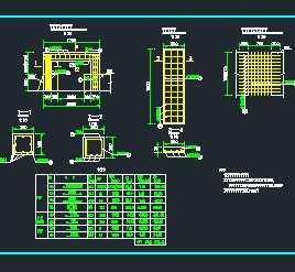 水闸梁、柱及泵站文案设计图免费下载-盖板闸商业广告设计ppt配筋图片