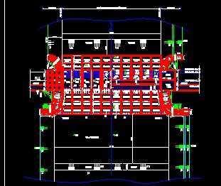 某大型平底泄水闸设计图免费下载-泵站闸门平面设计使用软件有哪些软件图片