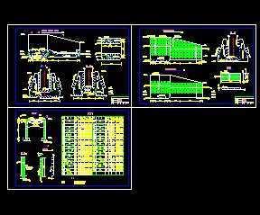 某阶段技施水闸设计图免费下载-泵站软件-土免费装修设计闸门百度微盘图片